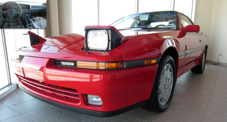 Brand New 1990 Toyota Supra Surfaces For Sale In Canada