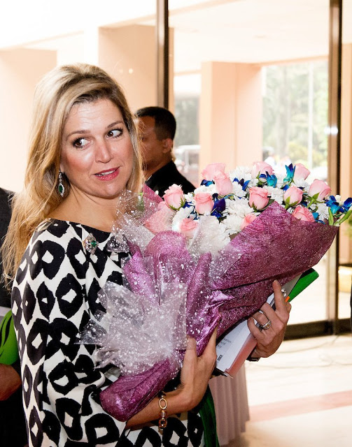 Dutch Queen Maxima On 3rd Day Of Her Visit To Bangladesh