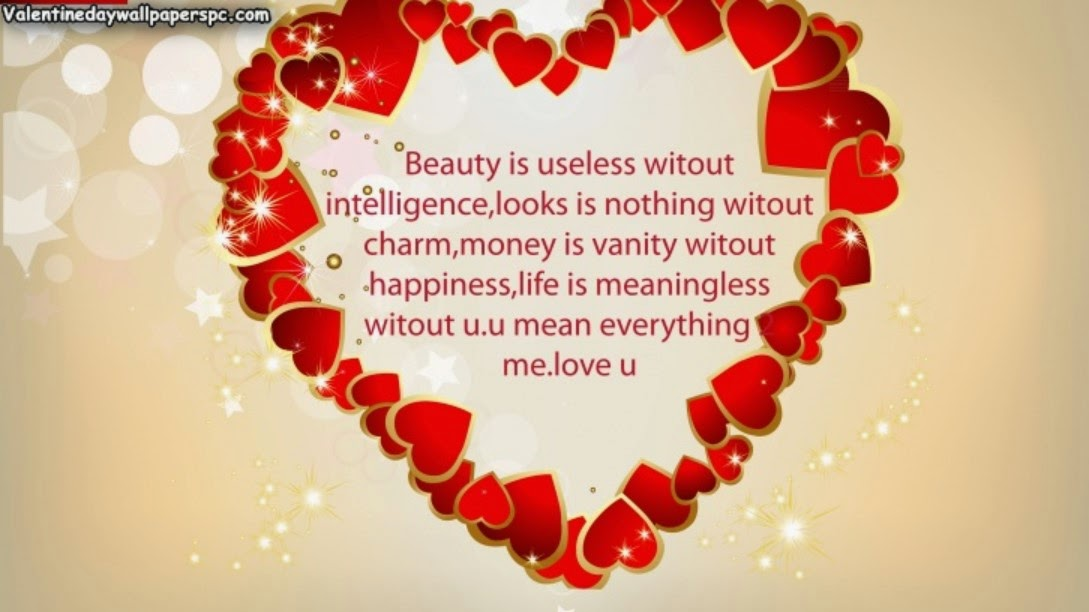 Love Quotes Valentines Day Glamorous Valentines Day Best Love Quotes Wallpapers 2016  Happy