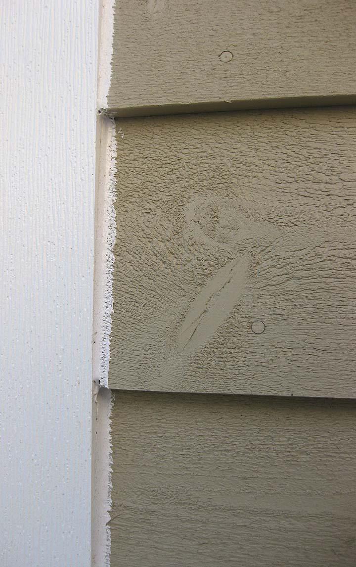 Thinking with my heart how to caulk neatly - How to caulk exterior window trim ...