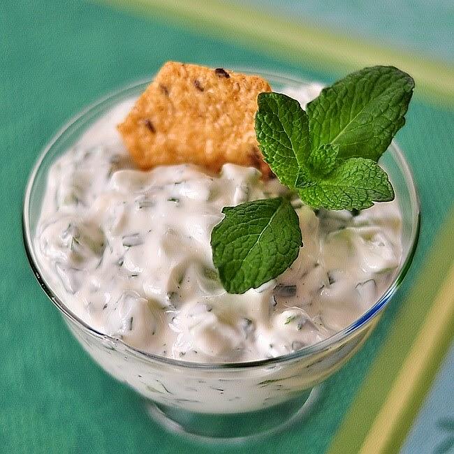 Что  нужно обязательно попробовать на Кипре или Немного про традиционные кипрские закуски,  тцатцики