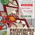 Kursus Kain Perca : Kursus Patchwork Quilting Padang #1