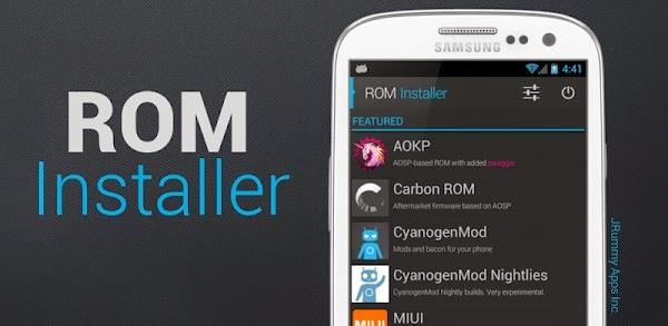 ROM Installer v1.2.6.2 Build 12263 Gold Version Apk PRO