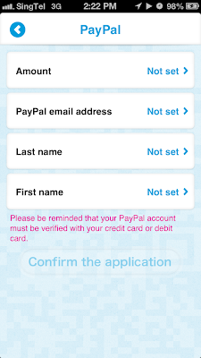 Phewtick cash out by PayPal