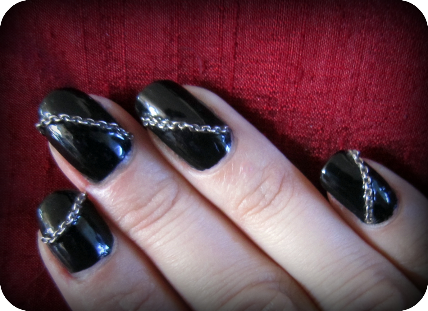 Nail Designs With Chains 28 Images 3d Nail Chain Reaction