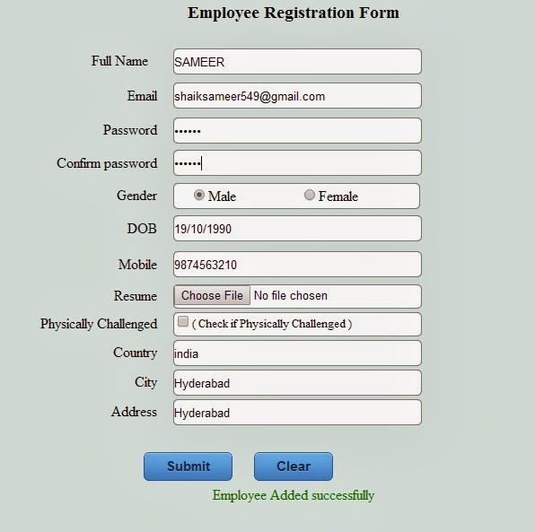 Registration form in Asp.Net / C#.Net winforms using 3 ...