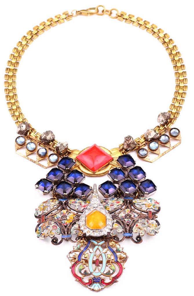 bromeliad vintage jewelry inspiration from lulu