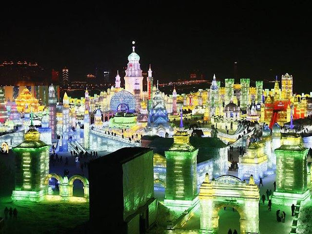 Harbin International Ice and Snow Sculpture Festival - Φεστιβάλ Γλυπτών στον Πάγο.