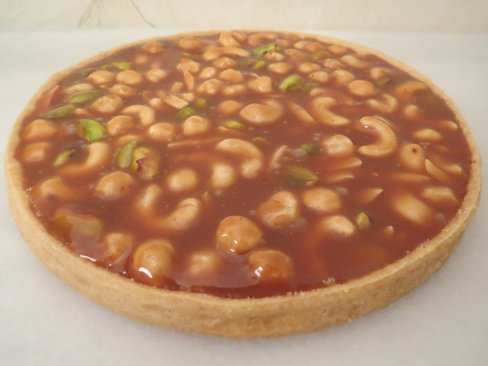 Bouchon Bakery Book Project: Caramel Nut Tart