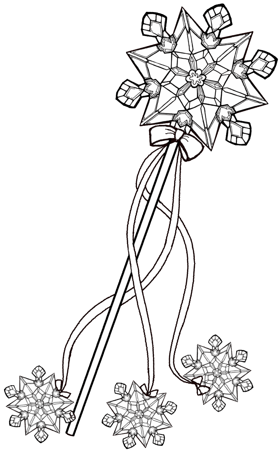 Free Crown Elsa Coloring Pages