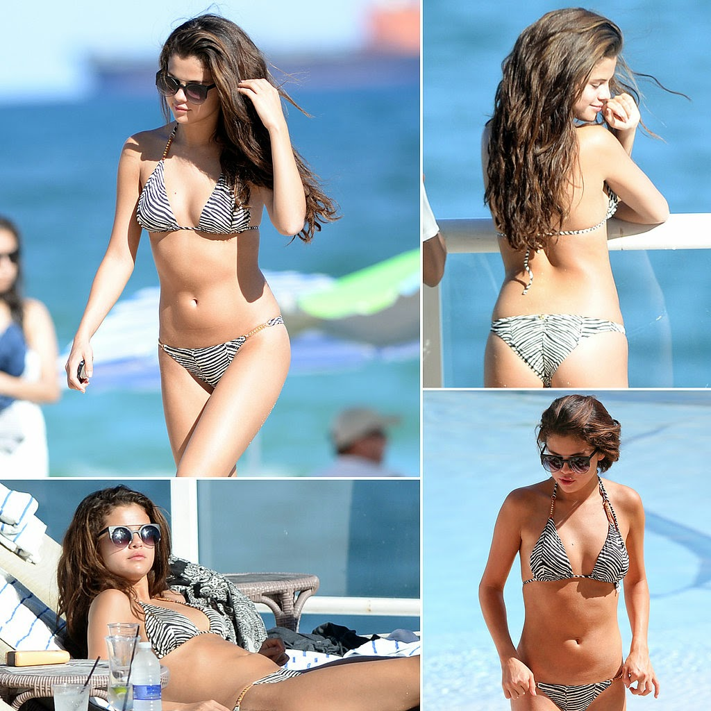 Selena Gomez rang in her 22nd birthday on Tuesday in Saint-Tropez. She and a mystery man, who is reportedly Italian businessman Tommy Chiabra, were seen jet skiing together and later cozied up in a towel on the deck of a yacht. Selena also stayed close to model Cara Delevingne when they parasailed with friends in their bikinis. The pals have been hanging out aboard the vessel since Monday, and the fun continued on Wednesday when they all jumped off the yacht and into the ocean. This isn't the first time Selena and Cara have hung out. Earlier this year, they joined Cara's friend Suki Waterhouse at Katy Perry's concert in London back in May. While the pair's friendship may seem surprising, they actually have quite a few connections. Cara used to date Harry Styles, who also had a romance with Selena's best friend, Taylor Swift. Despite their famous mutual ex, Cara and Taylor are on friendly terms and even met up for a fun day in NYC back in April. Harry also briefly dated Kendall Jenner, who recently had a falling-out with Selena.