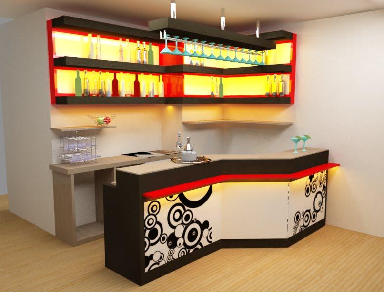 Dise arte bar para departamento en miraflores for Diseno de barras de bar en madera