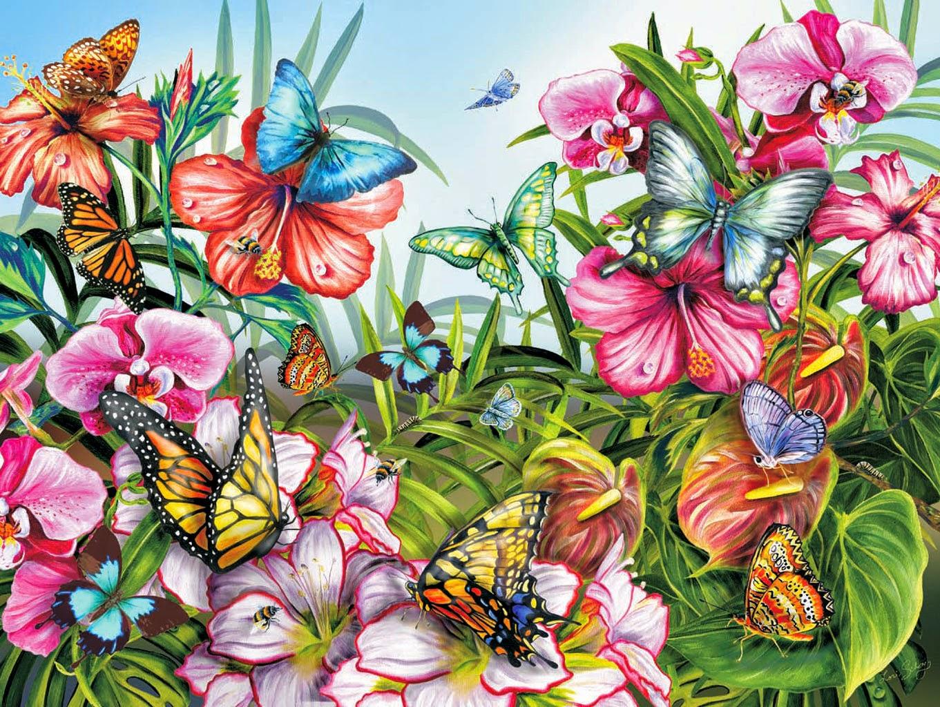 flores jardim secreto:Com a nova onda dos livros de colorir para adultos, O Jardim Secreto