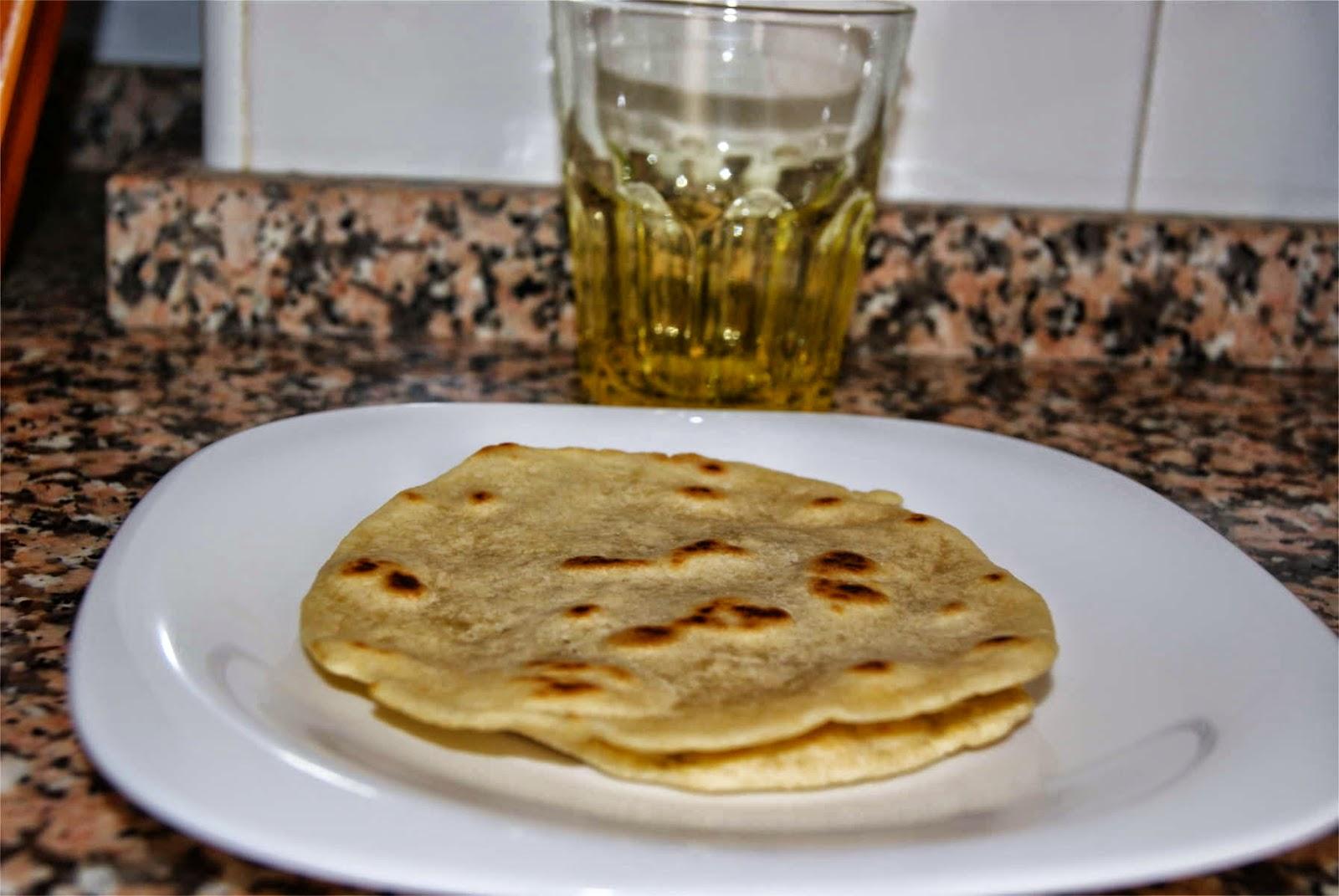Tortitas de trigo