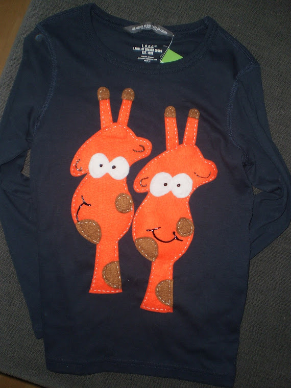 Camiseta personalizada!