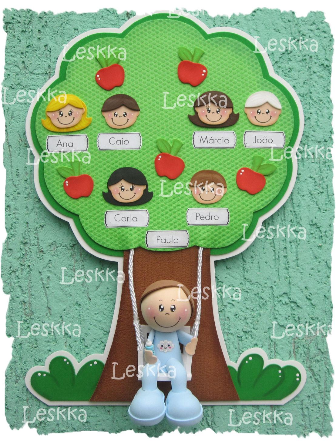 Leskka - Arte em e.v.a: Árvore genealógica!