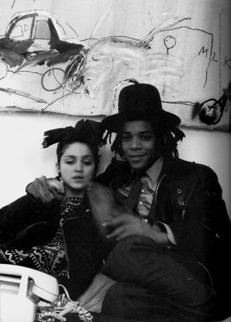 Madonna and Jean-Michel Basquiat