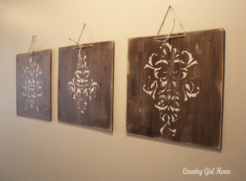 COUNTRY GIRL HOME : how to make old wood decor