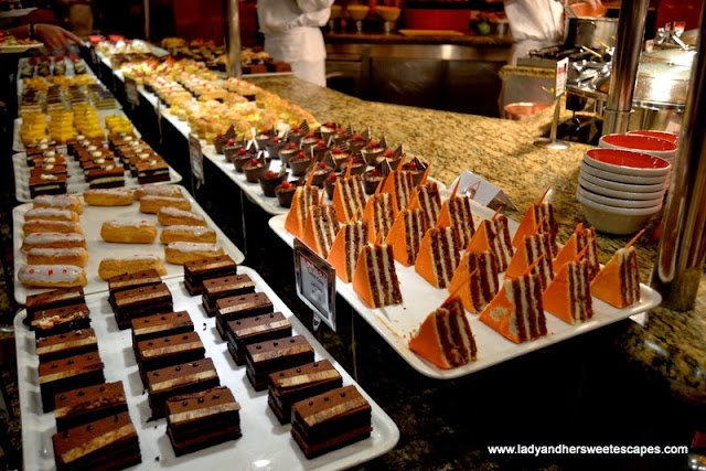 Kaleidoscope's dessert station