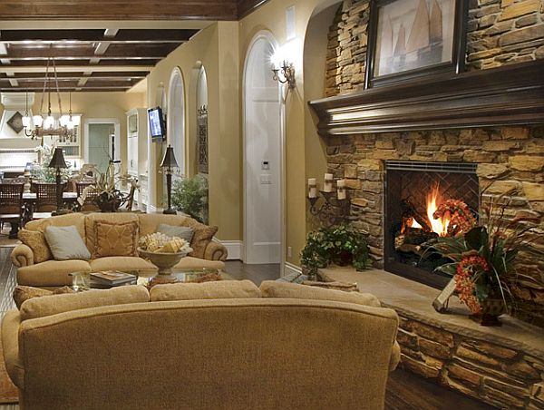Stylish western home decorating real life inspiration for Living room ideas rustic