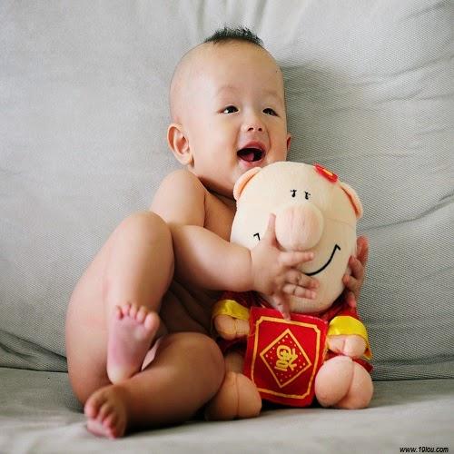 Photo bébé garçon chinois