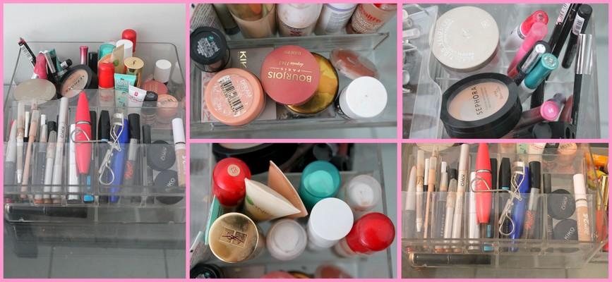 blondiejulie blog beaut lifestyle toulouse beaut je r organise mon maquillage. Black Bedroom Furniture Sets. Home Design Ideas
