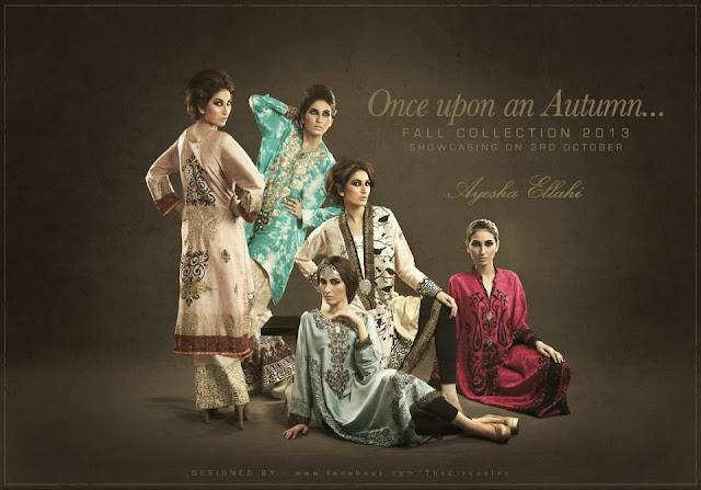 Pakistani designer Ayesha Ellahi's Fall Collection