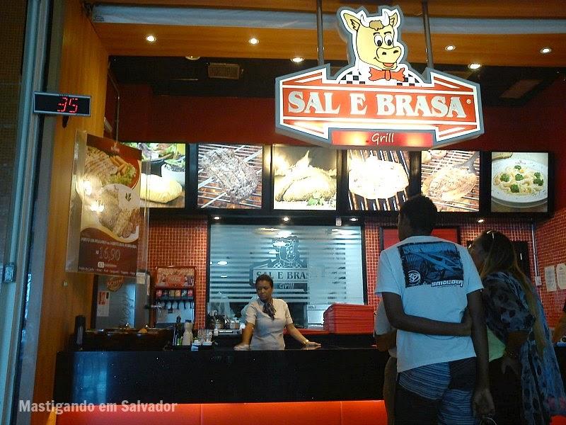 Sal e Brasa Grill: Fachada da loja do Salvador Norte Shopping