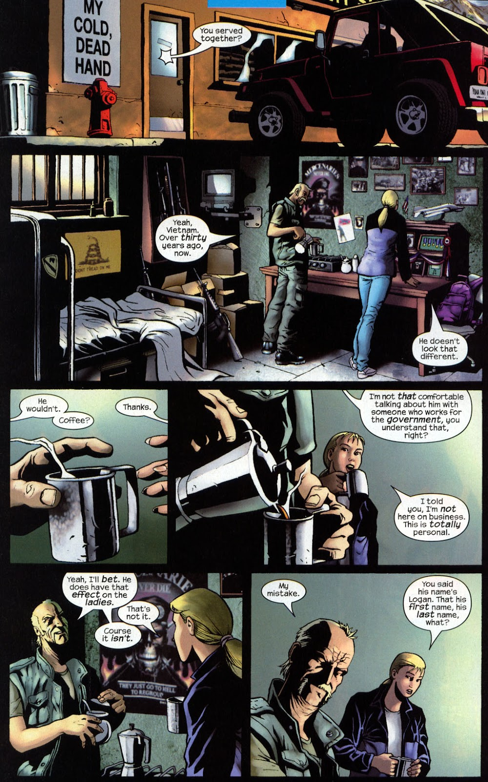 Read online Wolverine (2003) comic -  Issue #7 - 16
