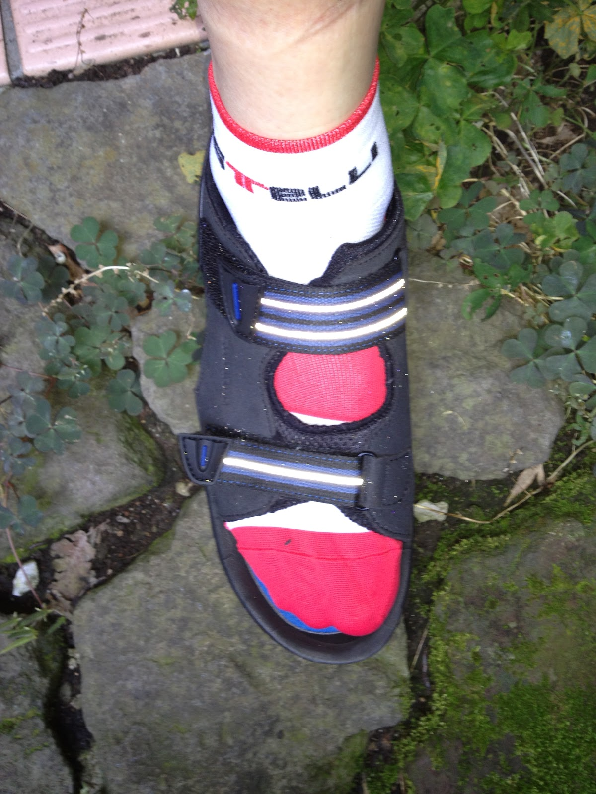 Sandals cycling shoes - I M Enjoying My New Cycling Shoes