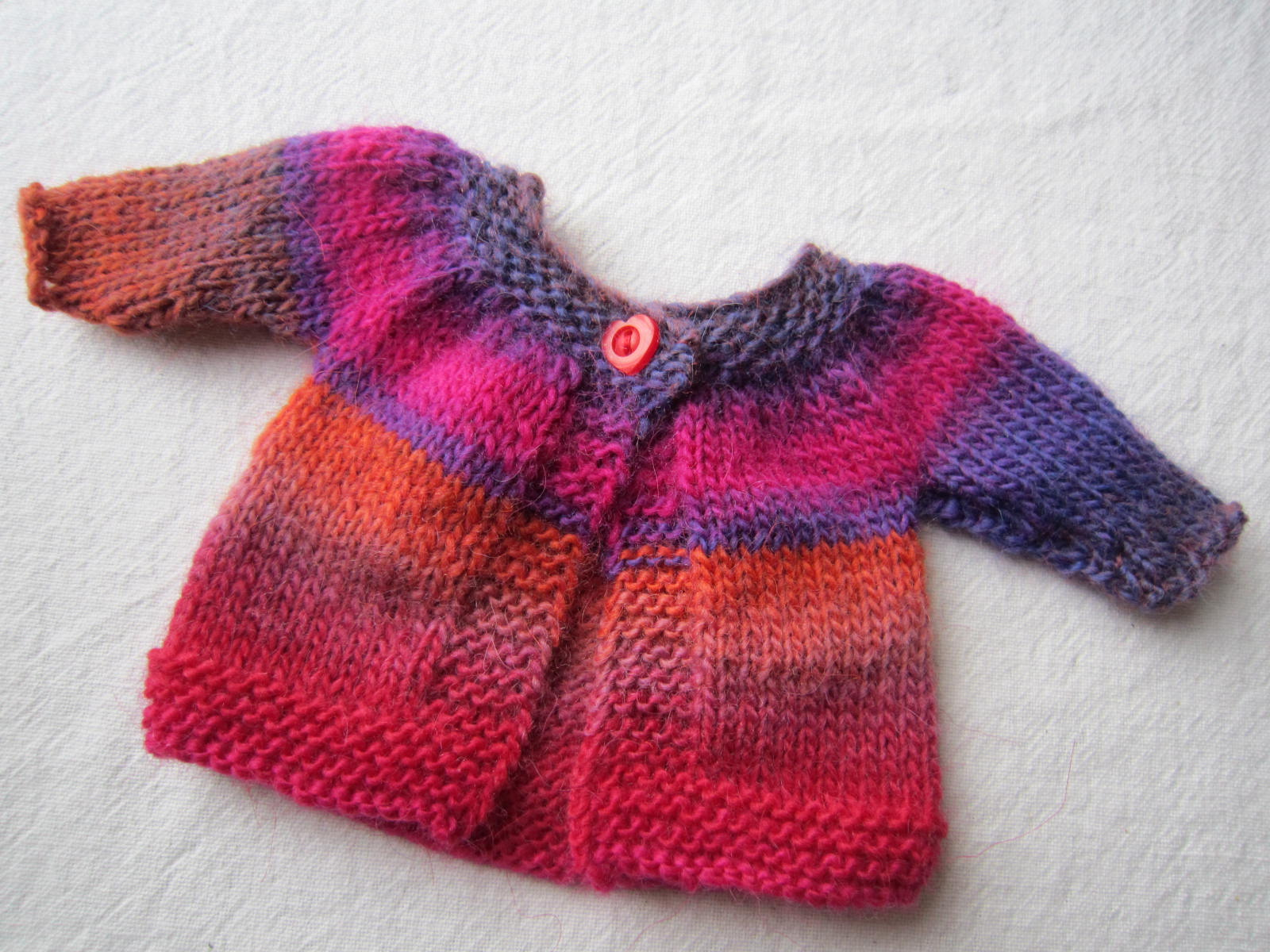 Knitting Decrease Stitch At End Of Row : SNOOPYDOGKNITS!: SMALL THINGS....