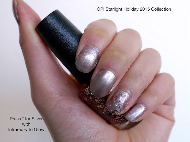 OPI - Press * for Silver and Infrared-y to Glow