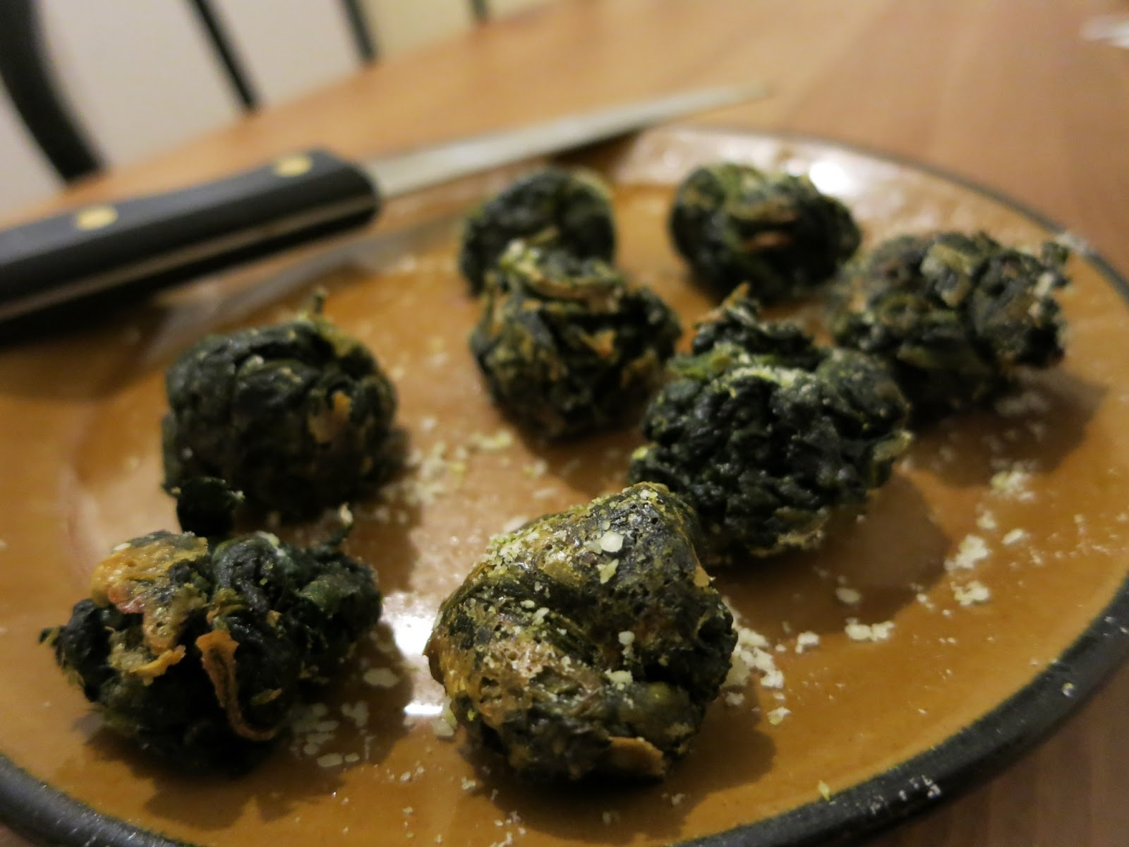 Cheesy Spinach Parmesan Balls