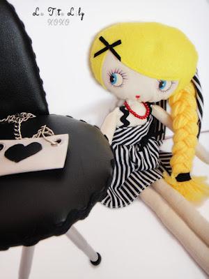 Muñeca de trapo para Luna