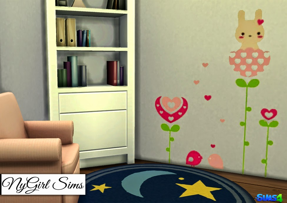 My bunny wall decals