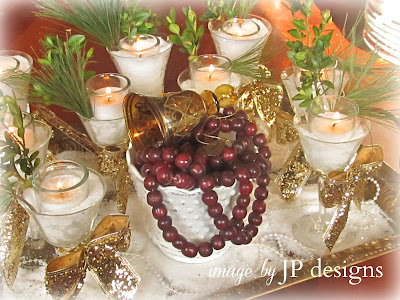 "alt=""Beautiful christmas snow candles"""