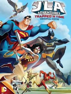DC Comics Liga de Justicia Aventuras Atrapados en el Tiempo DVDRip