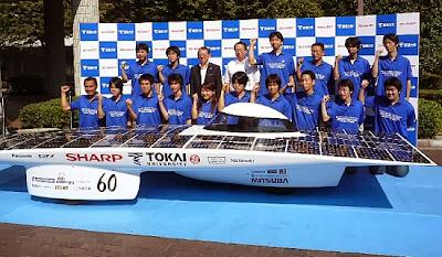 Los autos solares cuidan el planeta
