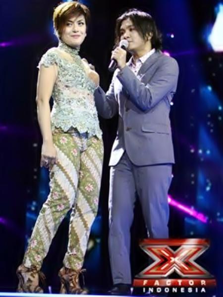 Kebaya Novita Dewi X Factor Karya Anne Avantie