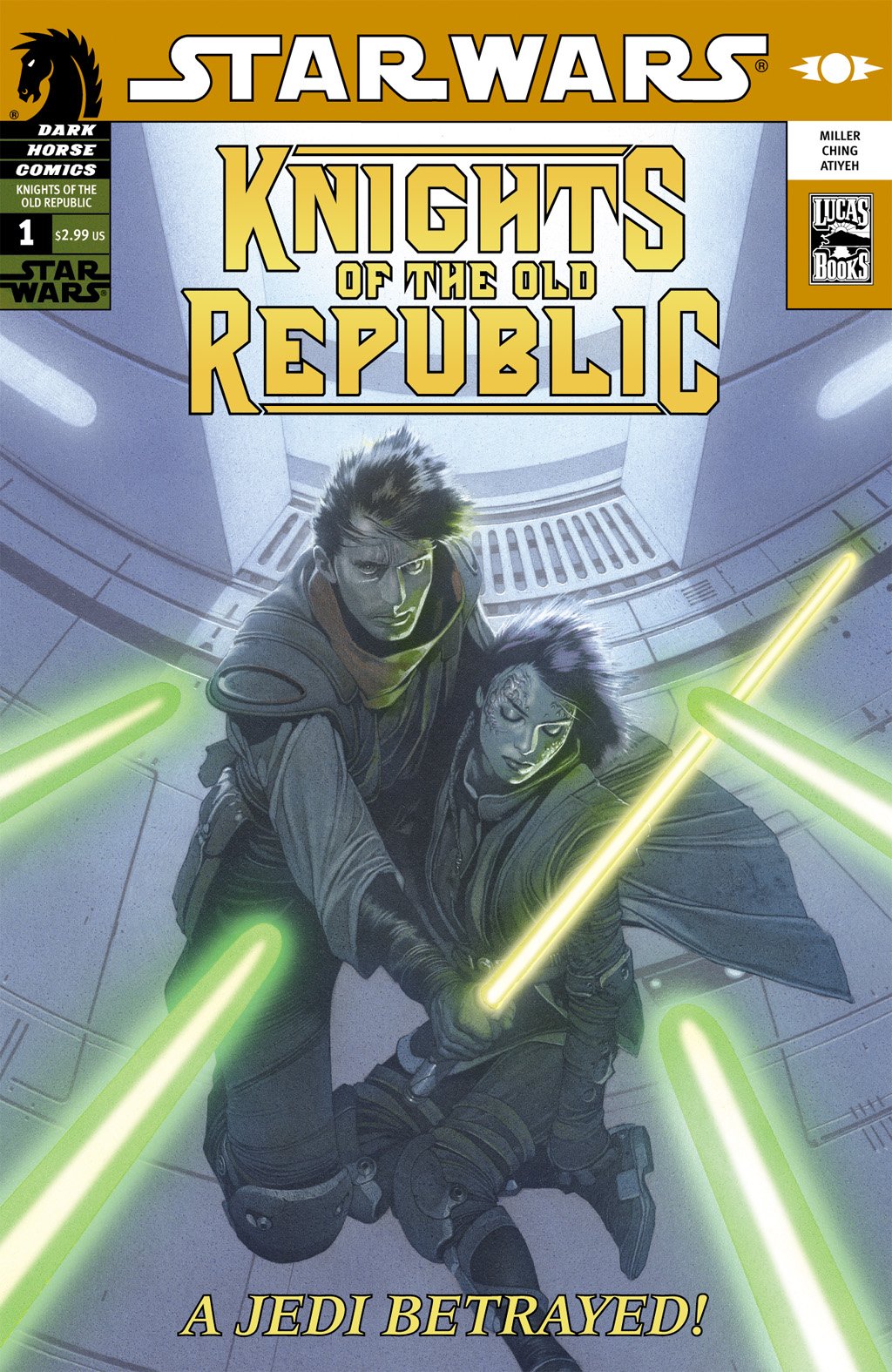 Star Wars: Knights Of The Old Republic issue 1 - Page 1