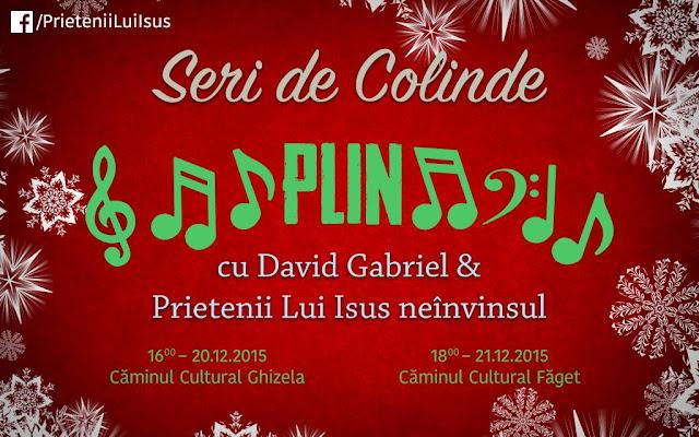 Concert de colinde la Ghizela - 20 decembrie 2015
