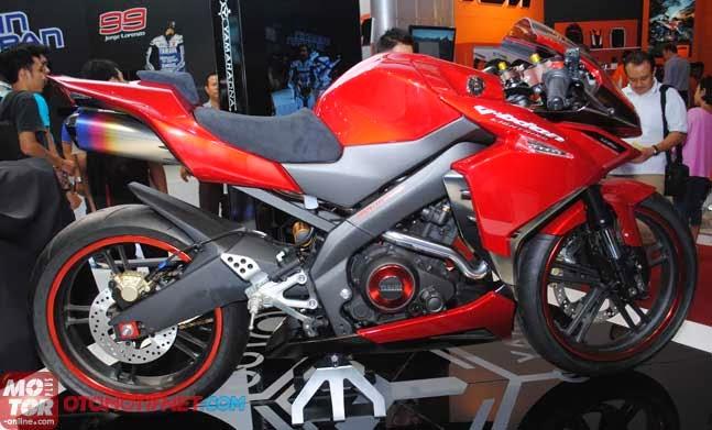 Modif Ringan Yamaha New Vixion Lightning