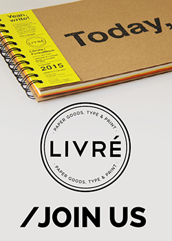 Livré, Papers Good, Type & Print