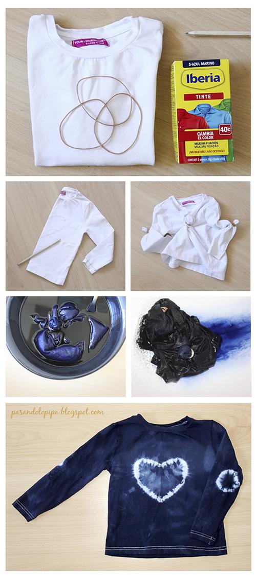 pasandolopipa : camiseta tie dye tutorial