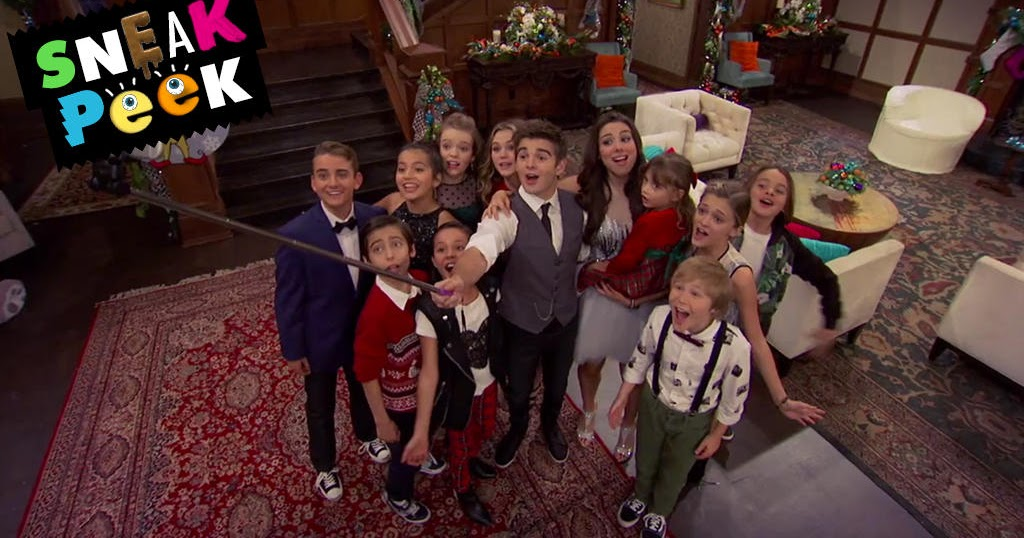 NickALive!: Sneak Peeks Of Nickelodeon's Ho Ho Holiday Special!