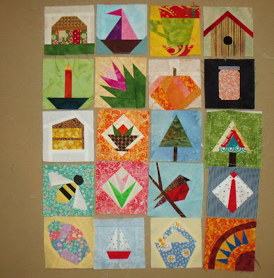 Square in Square Quilt Block (Paper Piecing Tutorial
