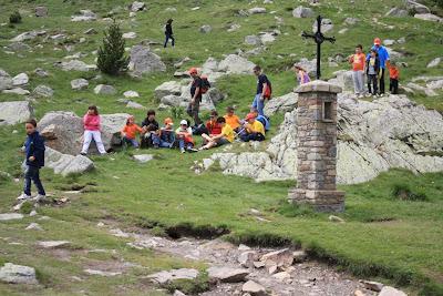 The environment around El Santuari de Núria