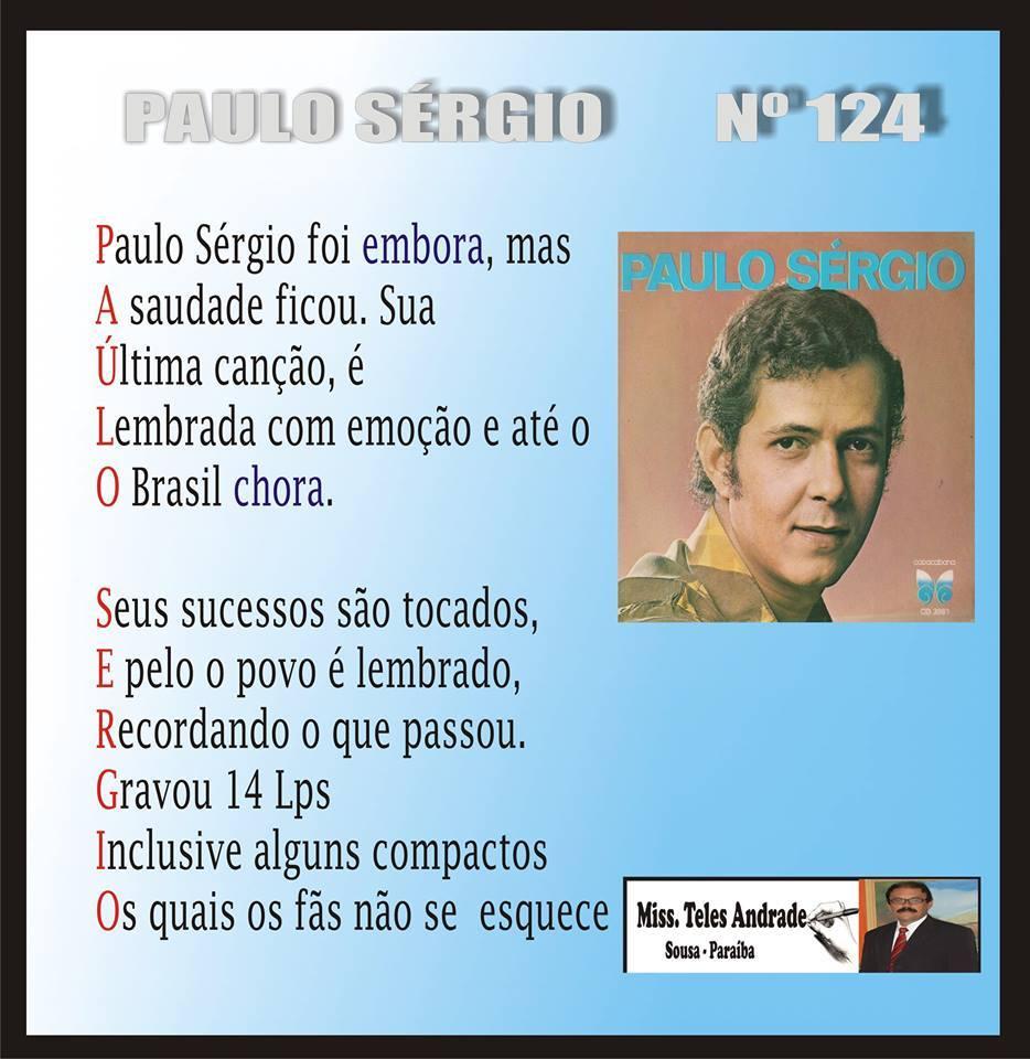 NOSSO IDOLO - PAULO SÉRGIO