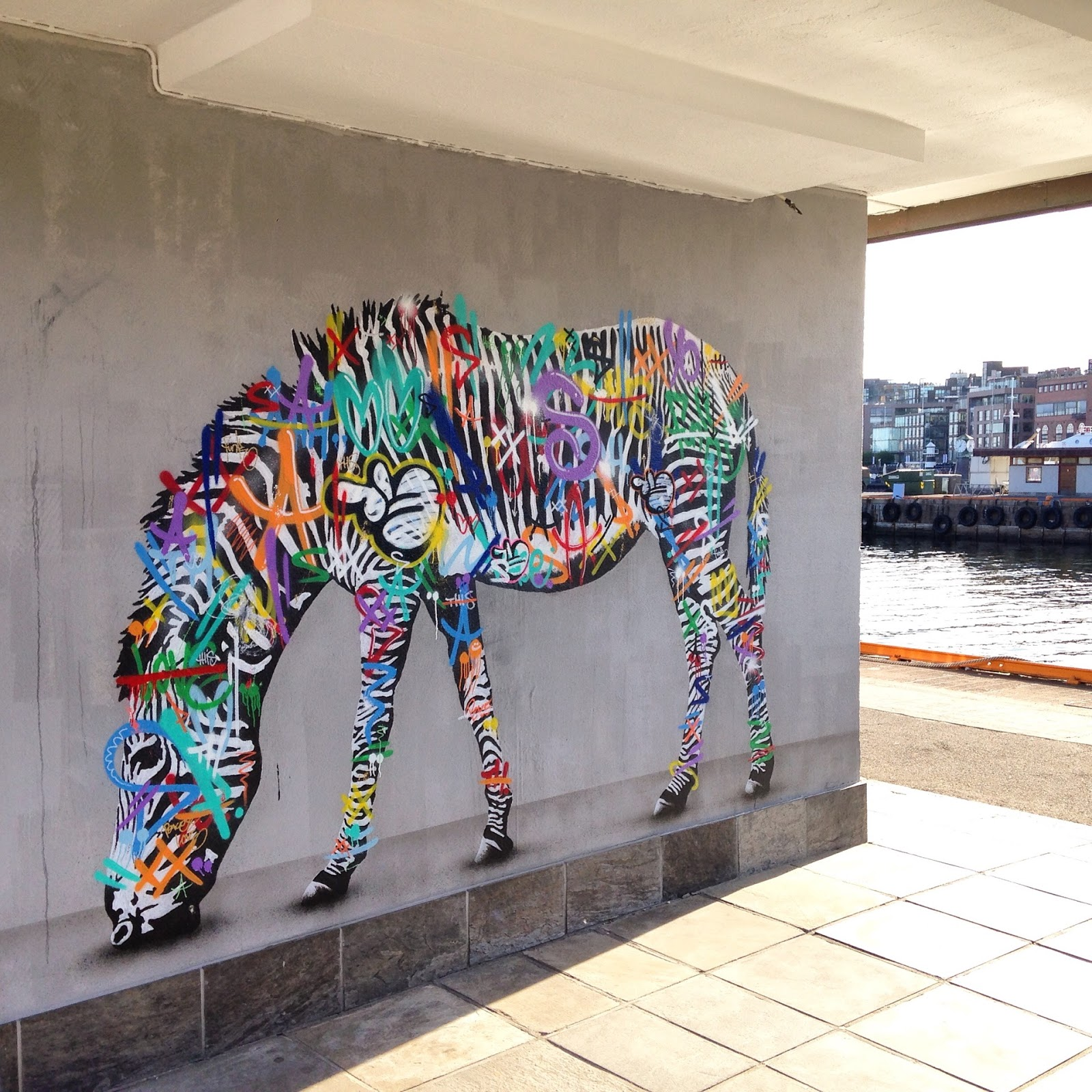Grafitti art oslo - Martin Whatson Paints A Series Of New Pieces In Oslo Norway