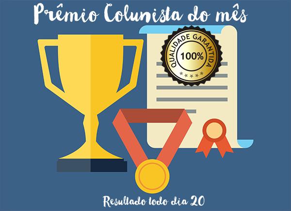 Prêmio Colunista do Mês
